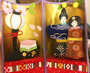 "Japanese handmade craft ""Kyoto couple"""
