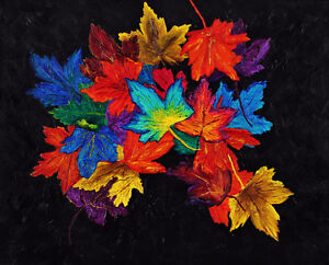 """Autumn's Cloak"" - New Original 3D Painting Kitchener / Waterloo Kitchener Area image 1"