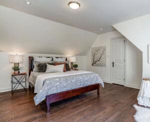 Bed & mattress (Queen size)
