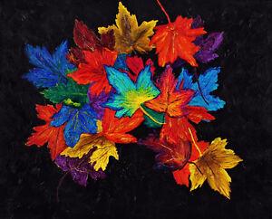 """Autumn's Cloak"" - New Original 3D Painting"