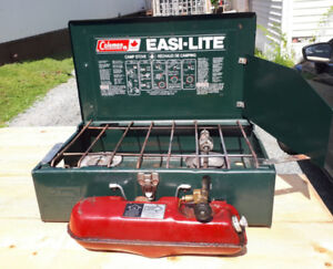 COLEMAN EASY LIGHT STOVE,, NAPHTHA GAS