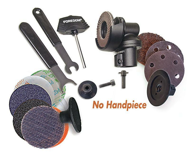 """Angle Grinder Foredom AK69110 2"""" Grinder Kit - Attachment With Accessories"""