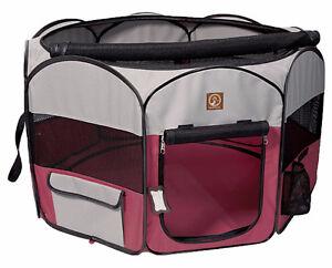 Enclos en toile pliant transportable pour chien à partir 109.99$