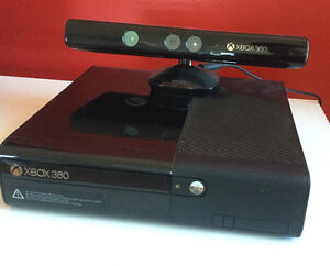 XBOX 360 + 2 manettes + chargeur + 11 jeux + 1 kinect
