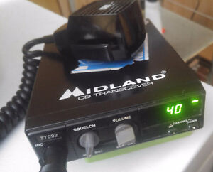 **READ AD**Midland 77092 Slimline CB Radio -. 30.00 FIRM