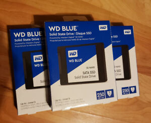 Brand New WD & Seagate HDD's and SSD's