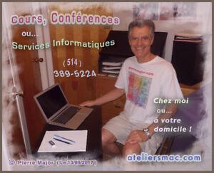 Cours, Conférence et Services informatiques pour le Mac