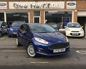 Ford Fiesta 1.0 100ps EcoBoost Titanium - DEEP IMPACT BLUE