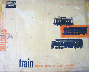 Marx Allstate Trains