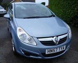 VAUXHALL CORSA 1.4 CLUB 5 DOOR HATCH-BACK, AIR CONDITIONING
