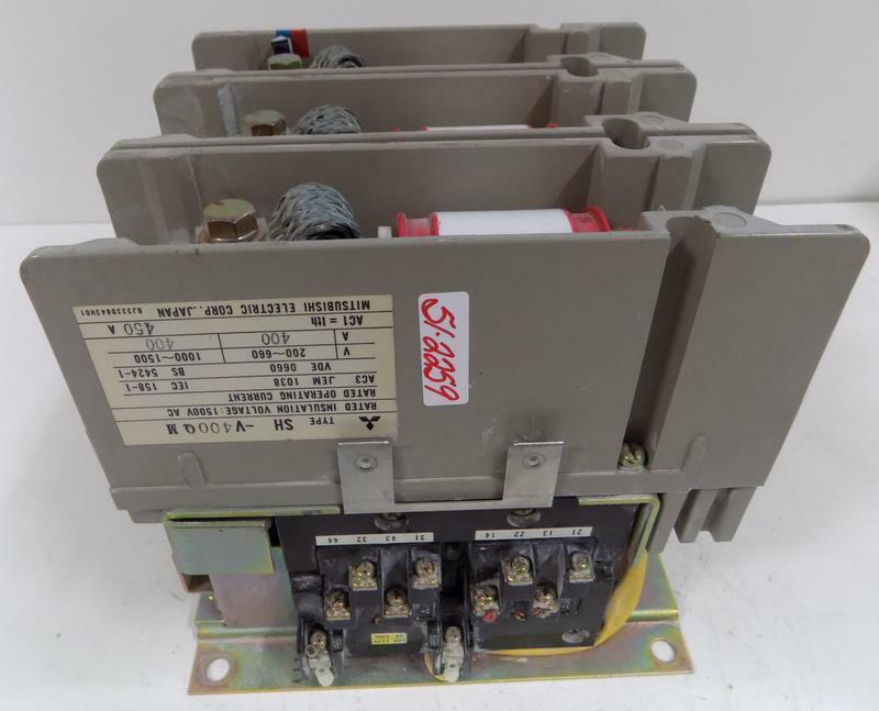 MITSUBISHI ELECTRIC VACUUM CONTACTOR SH-V400QM