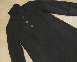 Manteau d'hiver gris charcoal, NEUF, 12 ans