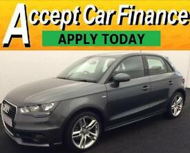 Audi A1 1.4 TFSI ( 122ps ) Sportback Tronic 2013MY S Line FROM £62 PER WEEK !