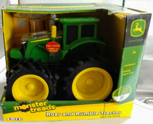 John Deere Tractor with lights, sounds, and vapor