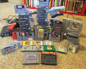 BUYING ALL OLD VIDEO GAMES