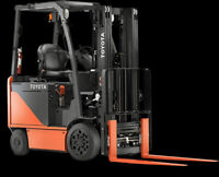 Forklift Training Available
