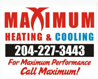 MAXIMUM HEATING & COOLING