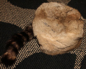 Fake Fur Hat - Size Small