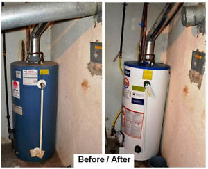 HOT WATER HEATER FREE RENTAL UPGRADE RENT TO OWN