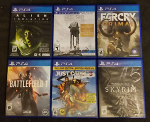 PS4 Games - EUC. Adult owned