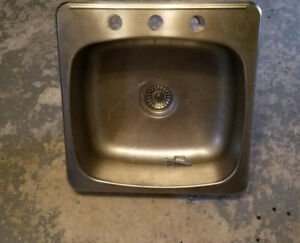 Kitchen sink - single, stainless
