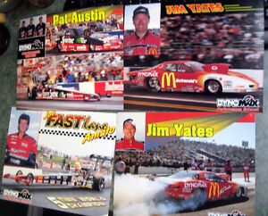 Nhra Drag Funny Cars Connie Kalitta Jim Yates Joe Amoto Austin