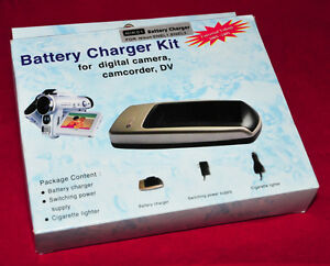Battery Charger Kit for Nikon Digital Camera with Auto Charger