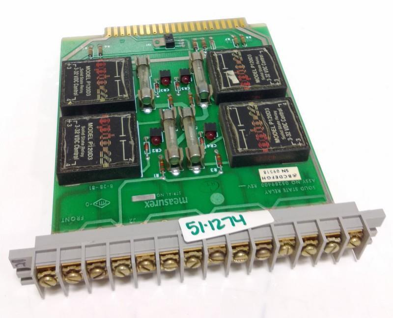 MEASUREX SOLID STATE RELAY 05289400