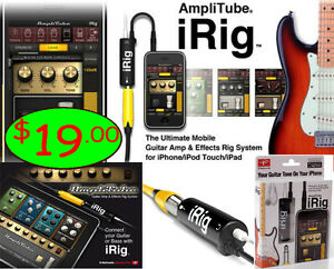 iRig Guitar Interface - FREE Stainless Steel Pick
