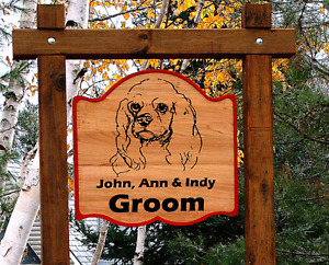 Custom Wood Signs, Plaques and Clocks