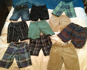 10 pairs of Boys size 7 and size 8 shorts !!!!