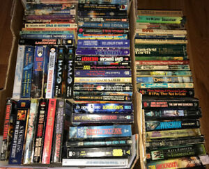 Science Fiction Sci-Fi 60+ PB Books 50's - 00's+ $15 for the lot