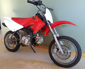 Modified xr to crf 70 with 110cc engine