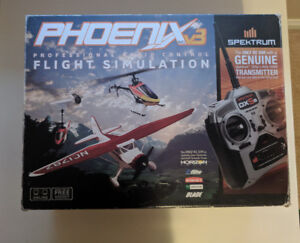 Phoenix Flight Simulator with Spektrum DX5e controller