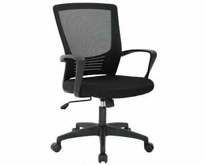 Office Chair Ergonomic Desk Swivel Rolling Computer Executive Lumbar Support