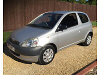 2001 TOYOTA YARIS 1.0 GS **53,000 MILES.....perfect first car**