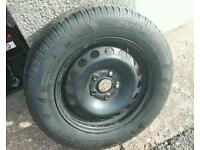 VW Caddy Wheel & Tyre
