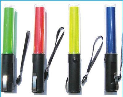 2020 New Traffic Control Led Blue Light Wand Baton Magnet