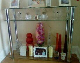 *Glass furniture* coffee table, TV unit, corner unit, narrow unit