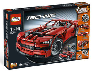 LEGO TECHNIC 8070 Supercar  2-in-1 Model Race Car