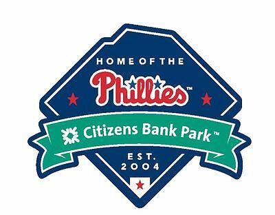 Citizens Bank Park Sticker Decal S50 Phillies