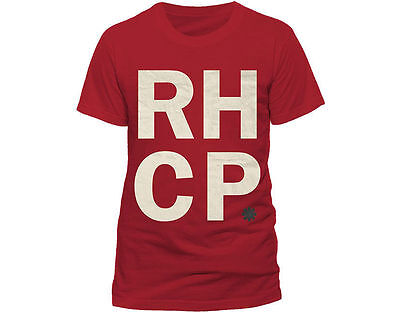 s - Rhcp Stapel - Offizielles Herren T-Shirt (Redhot Erwachsenen)