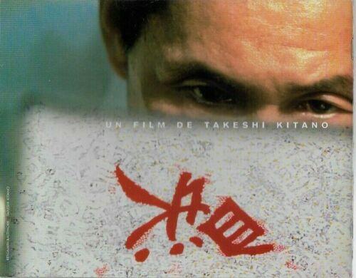 JAPAN Takeshi KITANO French Pressbook HANA-BI