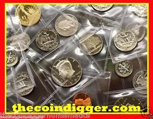 U-S-A-HUGE-LOT-PROOF-COINS-ESTATE-SALE-NO-JUNK-COIN-US-MINT-GRAB-BAG