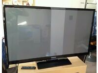 "Samsung 51"" Plasma 3D Hd tv with active 3D glasses"