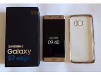 Samsung s7 Edge sim free gold