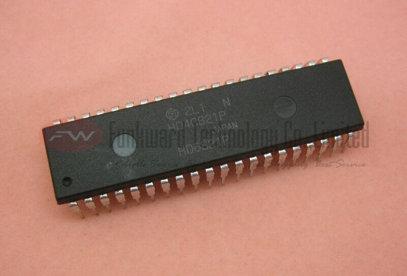 10PCS MC68A21P 68A21 6821 MCU DIP-40