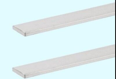 Aluminum Bar Flat Stock 2 - Lengths 316 X 1 X 6 Unpolished Alloy 6061