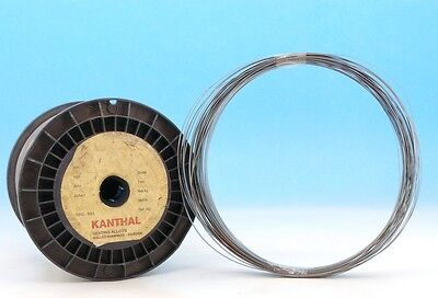 10m 30ft Kanthal D 2x0.3mm 12x29awg 2.420ohmm 0.737ohmft Flat Resistance Wire