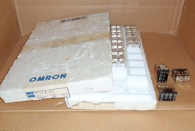Ly4-ua-ac120 Omron New In Box 4pdt 7a 14 Blade Relay Ly4uaac120